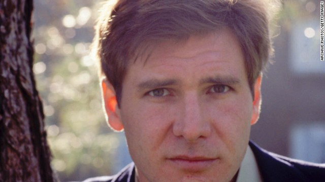 "Harrison Ford leans against a tree in 1978, the same year he appeared in the now infamous ""Star Wars Holiday Special."""
