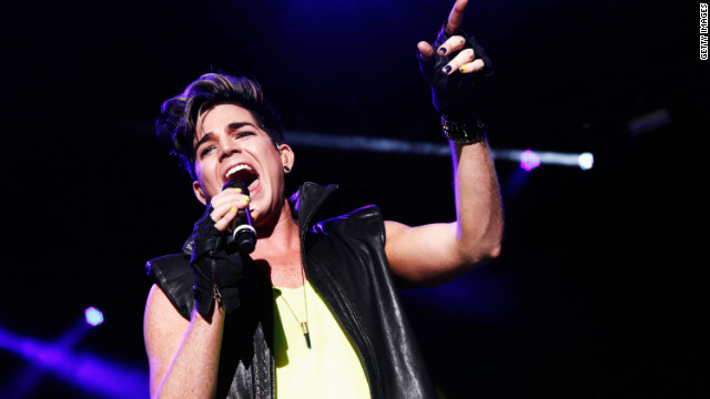 """Idol"" alum Adam Lambert told British radio station Capital FM he would ""jump at the chance"" if offered the spot."