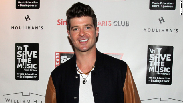 Robin Thicke, an R&amp;B star who broke through with the single &quot;Lost Without U&quot; in 2006, may be enough of a household name now to snag &quot;Idol&quot; consideration. 