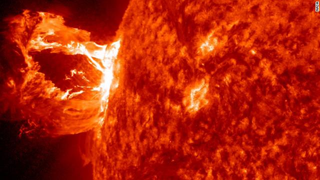 Un método para predecir tormentas solares