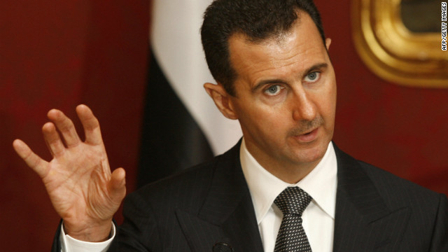 Bashar al-Assad vowed to lead Syria 