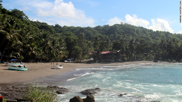 The beach town of Montezuma on the Nicoya Peninsula was so pleasant that we fit in an extra night by taking the fast route back to San Jose, adding an unexpected aerial sightseeing opportunity to our trip.