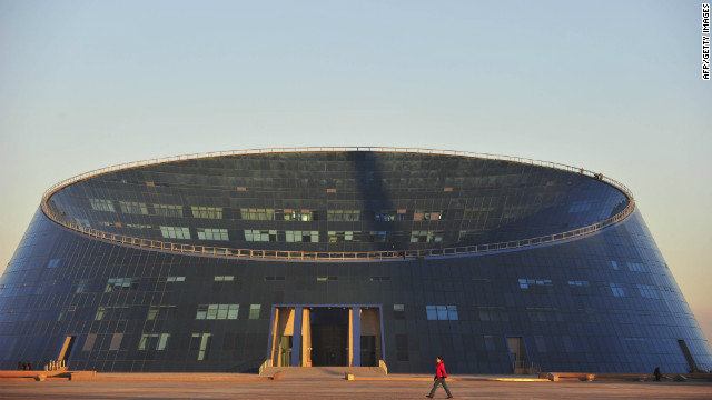 The Shabyt Palace of Art is the most remarkable part of the Kazakh National University of Arts.