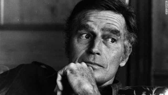 Actor Charlton Heston was a longtime registered Democrat, but in the 1980s switched to the GOP. In the 1996 election, he campaigned for dozens of Republican candidates, and in 1998 he was named president of the National Rifle Association.