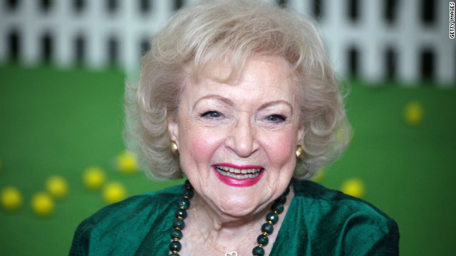 Actress Betty White, her career resurgent and with new status as a gay icon, has endorsed Barack Obama.