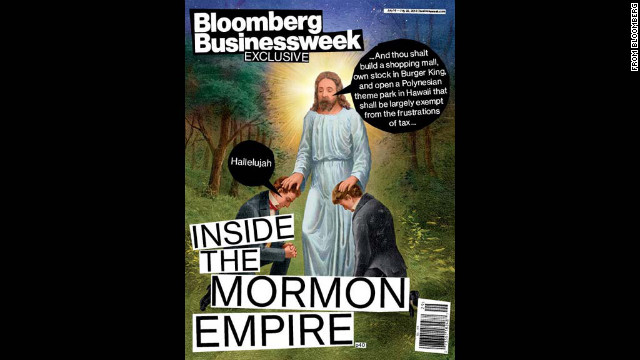 Businessweek's Mormon caricature cover draws fire