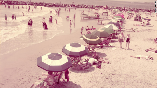 Vacationing back in the days: New Jersey, circa 1950s.