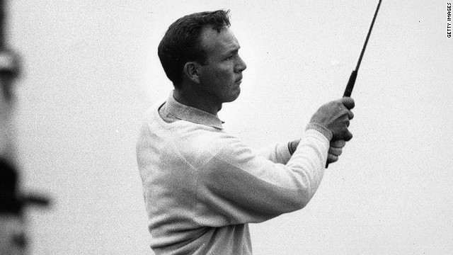 After narrowly missing out in the 1960 British Open at the home of golf, St. Andrews, Arnold Palmer won the tournament for the first time the following year at Royal Birkdale and then again in 1962.