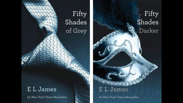 The marketing triumph of 'Fifty Shades of Grey' has led other erotica novels to be reissued with new, simpler covers.