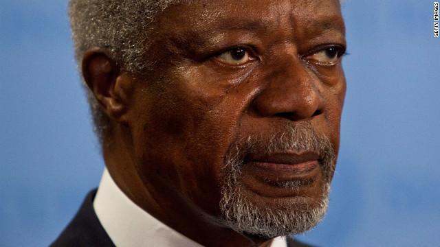 Las protestas sirias en las calles ahora piden la salida de Kofi Annan