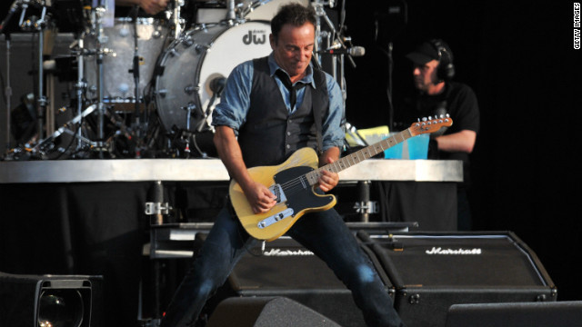 "Springsteen is known for his marathon sets, which in London included ""Thunder Road,"" ""Because the Night,"" ""Born to Run"" and ""Dancing in the Dark."""