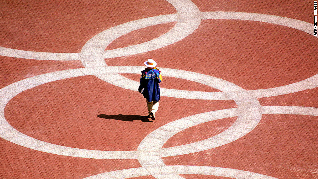 Olympic Rings: Could they be used as a symbol for sporting participation instead of a logo for corporate sponsors?