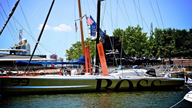 Behind the scenes: Thomson sailing solo around the world