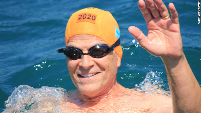 Godfather of U.S. competitive swimming bets on Phelps