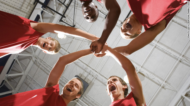 Team sports help teens stay fit
