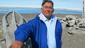 Edward Itta, former mayor of Alaska\'s North Slope Borough, campaigned hard against oil drilling. Now his views have softened.