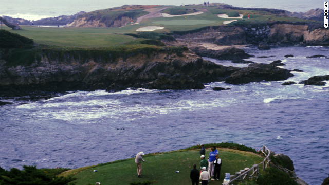 Consistently ranked as one of the very best, if not the best course on earth, Cypress Point is a small, private club on the tip of the Monterey Peninsula in California. Originally designed by Alister MacKenzie in 1928, several of its picturesque closing holes play alongside and over the Pacific Ocean.