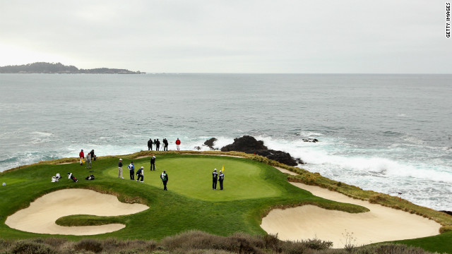 Routed along the crags of Carmel Bay, Pebble Beach opened in 1919 and has hosted five U.S. Opens. Boasting some of the most dramatic panoramic views in golf, it is the most highly-rated U.S. course that accepts public bookings, with fees of $495 per round.