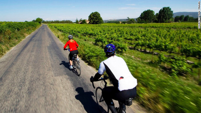 Trek Travel's Provence tour involves savoring your time in France, complete with a cooking class.