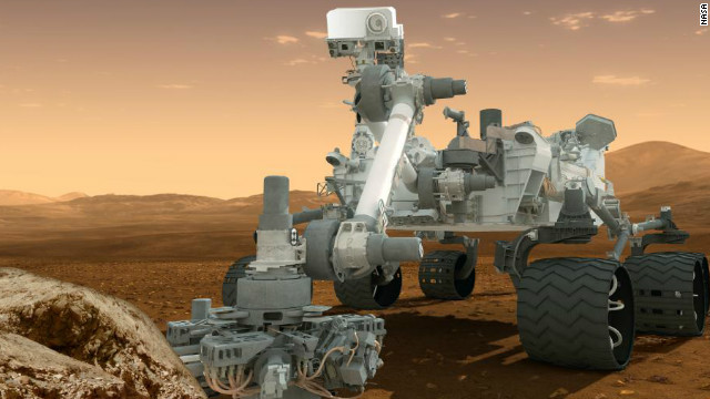 Giant rover to make 'terrifying' landing on Mars