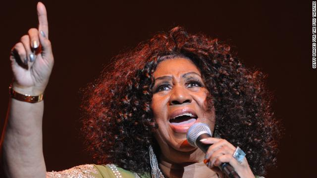 The Queen of Soul, Aretha Franklin, performs at the Fox Theatre on March 5 in Atlanta. She says folks young and old know her.