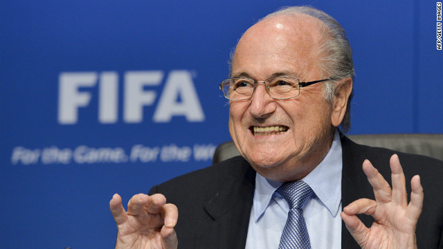 Sepp Blatter vowed to steer FIFA away from 