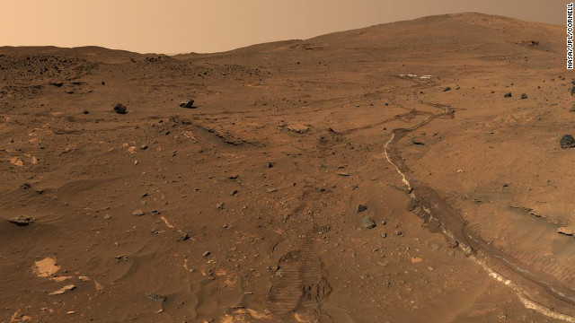 In 2006, NASA's Mars Exploration Rover Spirit captured a 360-degree view known as the McMurdo panorama. The images were taken at the time of year when Mars is farthest from the sun and dust storms are less frequent.