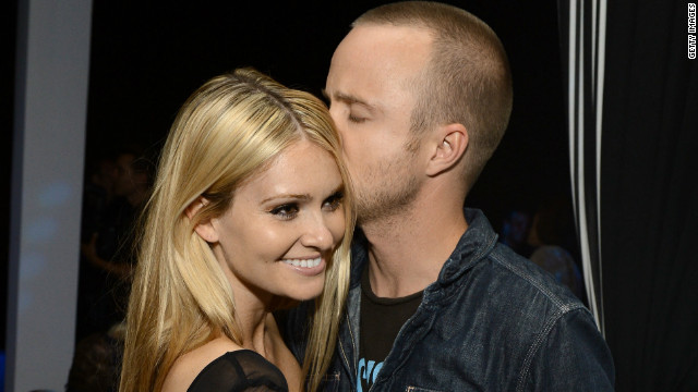 How 'Breaking Bad's' Aaron Paul knew fiancée was the one