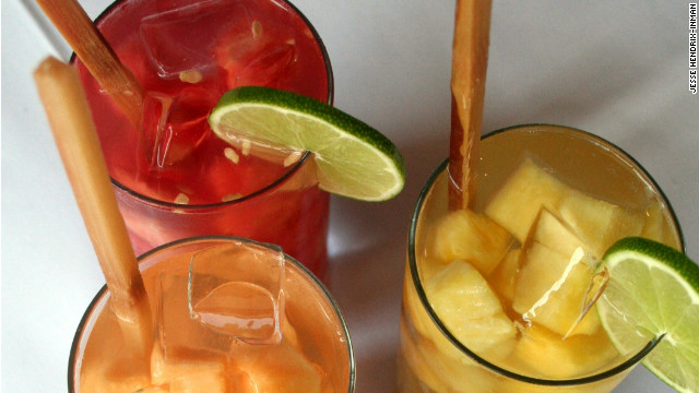 5@5 - How to make aguas frescas, Mexico's summer coolers