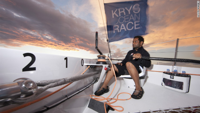 Mohsin Al Busaidi, 37, is a former petty officer in the Omani navy. He shot to fame in 2009 when he became the first Arab to sail non-stop around the world in just 76 days.