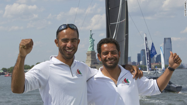 The project was set up to encourage young Omanis to take up sailing. In the past three years it has taught thousands of children how to sail and it is also helping to develop a women's squad. Both Fahad Al Hasni Mohsin Al Busaidi are part of the program. 