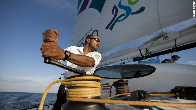 "One of the young Omanis who has found his sea legs through the ""Oman Sail"" project is Fahad Al Hasni, 29. He was selected to be part of the ""Musandam-Oman Sail"" crew despite only having sailed for three years."
