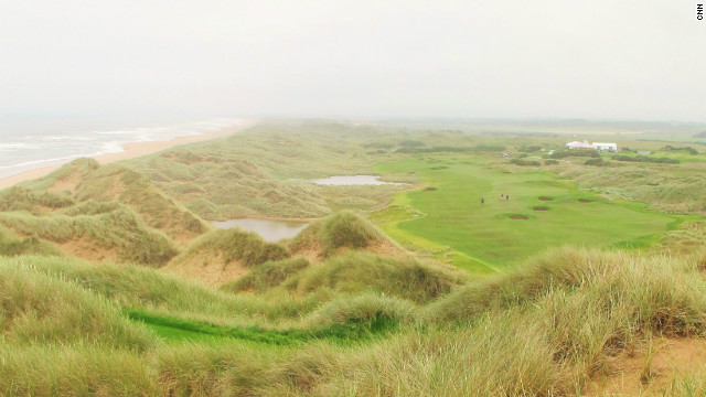 "Hailed by owner Donald Trump as ""the world's greatest golf course,"" the American's new Scottish project mixes breathtaking views from elevated tees with classical links bunkers and wild rough. Dramatic, tall sand dunes frame many of the photogenic holes at Trump International. The true test of the course's standing will be its longevity and whether it matures into a stern test of championship golf."