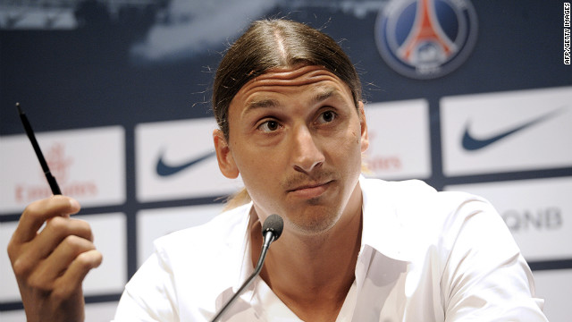 Zlatan Ibrahimovic said his move to French club Paris Saint-Germain was a dream come true