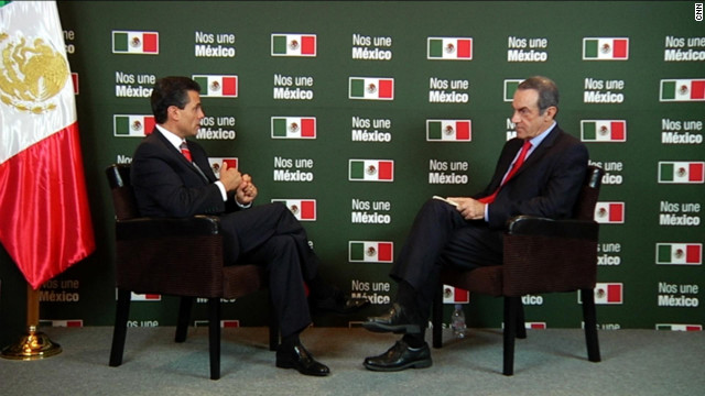 "Enrique Peña Nieto en ""Oppenheimer Presenta"""