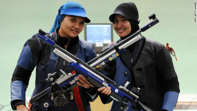 Malaysian shooter Nur Suryani Mohamed Taibi will compete while eight months ...