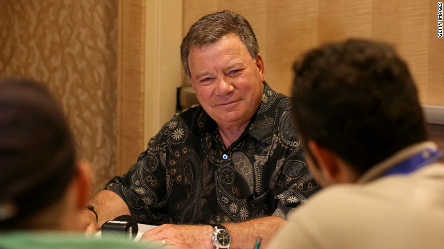 William Shatner boldly goes into Trekker culture