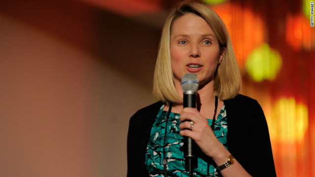 Marissa Mayer, Yahoo's new CEO, has said her maternity leave 
