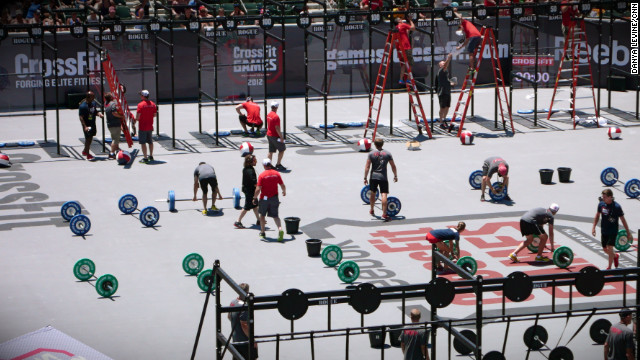 CrossFit: It's anybody's game
