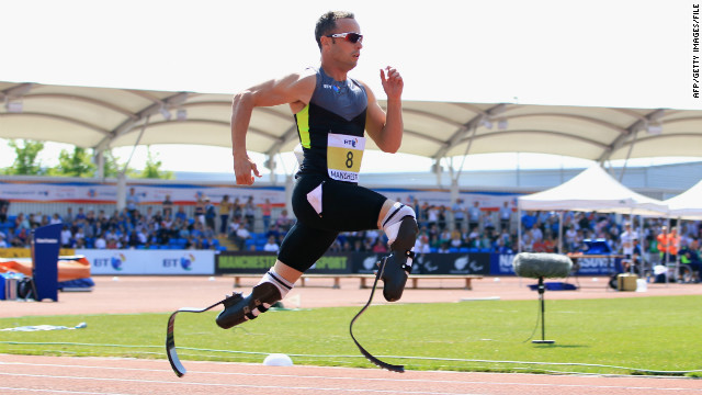 Michael Johnson bucks courts findings, says 'friend' Pistorius shouldn't compete in London