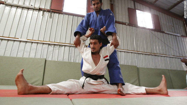 The bullet shattered into 11 pieces and he feared his dreams of reaching London 2012 were over. But after specialist treatment he has come back stronger, vowing to fly the flag for a new Yemen on the world stage.