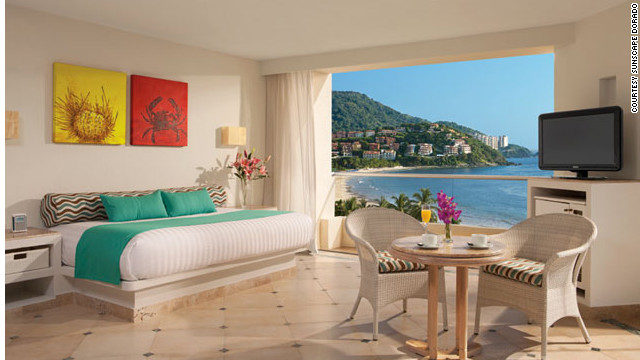 The Sunscape Dorado Pacifico in Ixtapa re-opened in November 2011 after a $10 million upgrade to all the rooms. <a href='http://www.budgettravel.com/slideshow/photos-best-budget-beachfront-all-inclusives,8613/' target='_blank'>See more photos of the resorts at BudgetTravel.com</a>