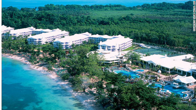 Head out to Negril on the far western tip of Jamaica to find the lively ClubHotel Riu. <a href='http://www.budgettravel.com/slideshow/photos-best-budget-beachfront-all-inclusives,8613/' target='_blank'>See more photos of the resorts at BudgetTravel.com</a>