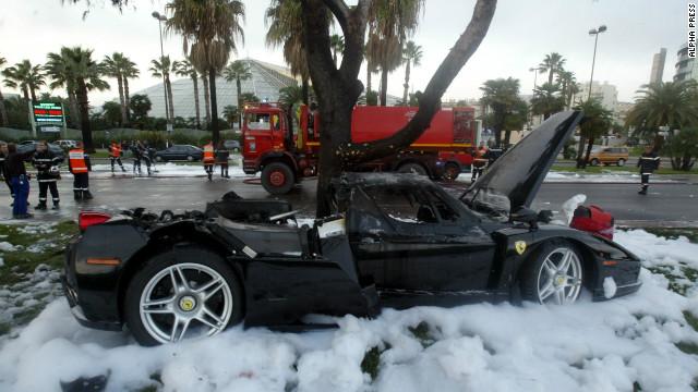 Ferrari Enzo Crash 4