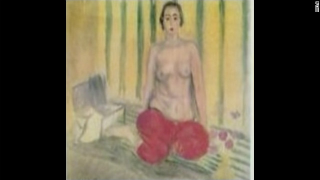 A $3 million Matisse painting stolen from a Venezuelan museum in 2003 was sold to undercover federal agents at a Miami Beach.
