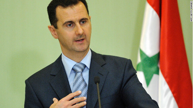 Syria's deputy prime minister reportedly dismissed talk of the resignation of Bashar al-Assad, who is pictured here in 2009.