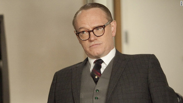 'Mad Men's' Jared Harris still in shock over Emmy nod