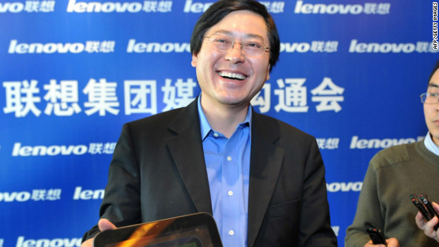 Yang Yuanqing, the CEO of China's biggest PC maker gave a portion of his bonus to employees. 