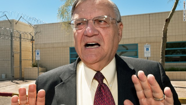 Maricopa County Sheriff Joe Arpaio said his deputies will leave crosses where immigrants die trying to enter the country.