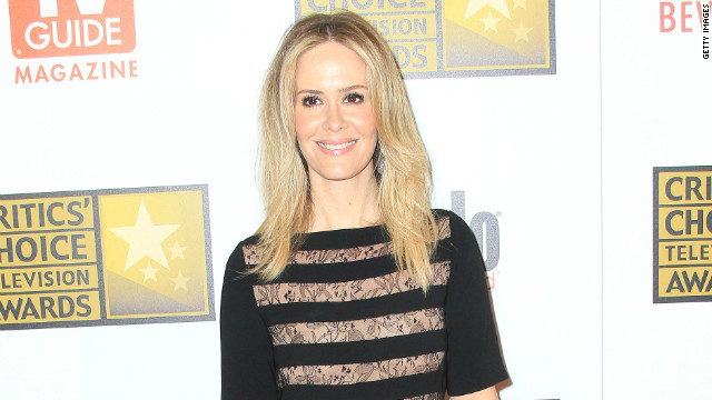 Sarah Paulson didn't sleep through her Emmy nom